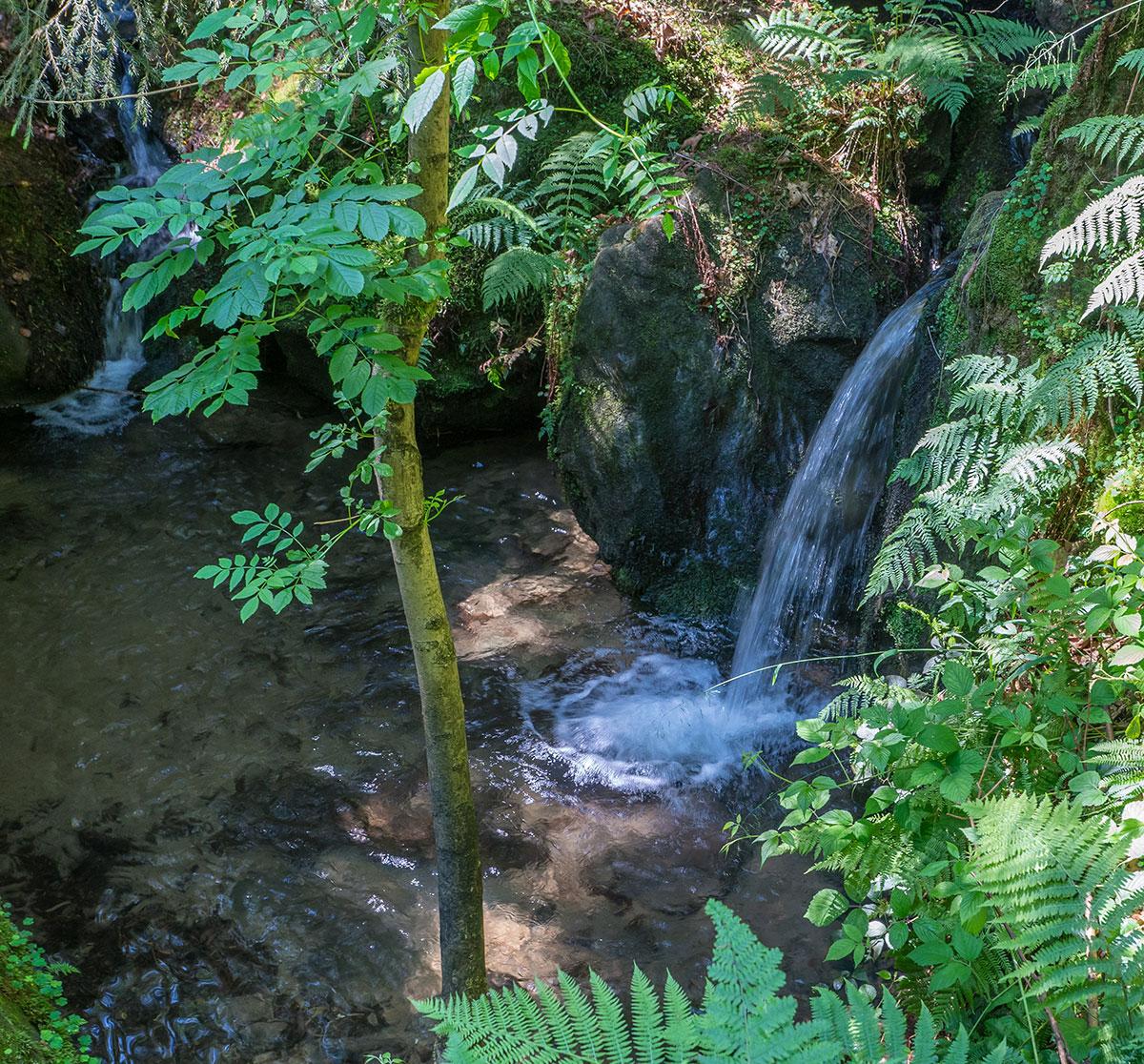 Elbtal, Wasserfall